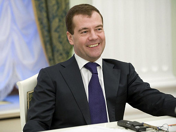 Medvedev points out growth in Armenia-Russia trade turnover