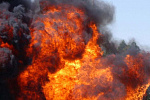 New hotspots in burning Spayka building in Yerevan trouble fire-fighting