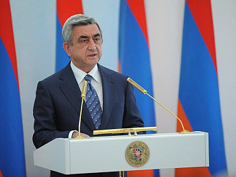 Armenia's President delivers condolences to Iran following the earthquake
