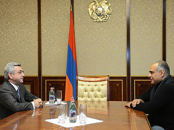 Raffi Hovannisian refused to meet Armenia's president
