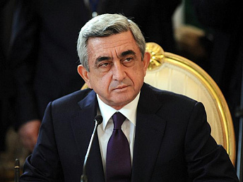 Armenian president congratulates his Turkish counterpart on republic day