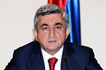 Armenian president offers to give 'green light' to import-replacing businesses