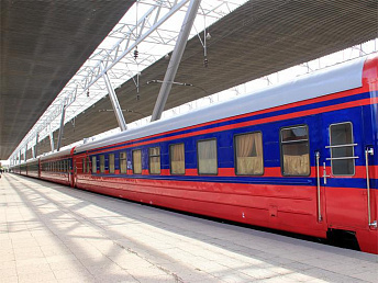 South Caucasus Railway's international passenger traffic increased 219% over five years