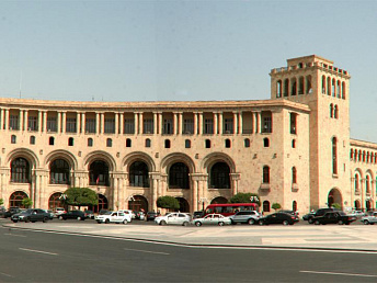 Armenian government to auction foreign ministry edifice on March 5: starting price is $51,271 million