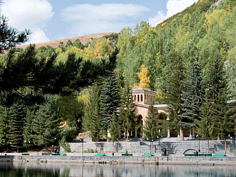 Armenia's Jermuk has high prospects for developing winter tourism