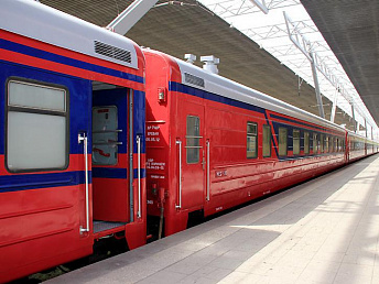 South Caucasus Railway passenger traffic increased by 5.1% in January 2013