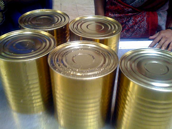 Armenia's canned food output ups 2.5 times to 207.2 t in January 2013