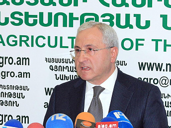 Agriculture's share in Armenian GDP 23%