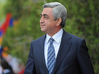 Candidate for president Sargsyan promises some free health and education services in Armenia
