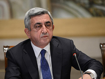 Armenian president says Karabakh may be recognized by some countries