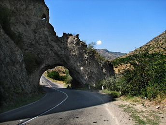 Road section between Tsovagyukh village and Dilijan tunnel to be closed till September