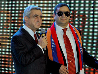 Agitation video kicks off current president Sargsyan's election campaign in Armenia