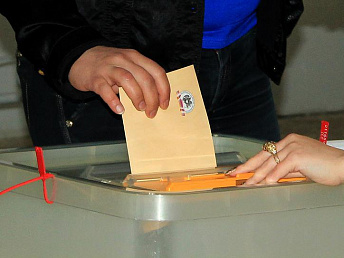 Chairman of constitutional court casts vote in Armenian presidential election