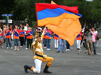 Yerevan municipality to release 80 million drams for displaying national flag across city