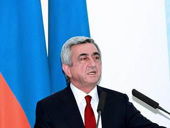 President Sargsyan sends telegrams of condolence over Algerian plane crash