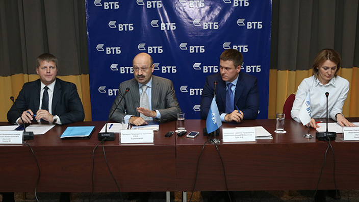 Press conference by Mikhail Zadornov, VTB24 Board Chairman and the leadership of VTB Bank (Armenia)