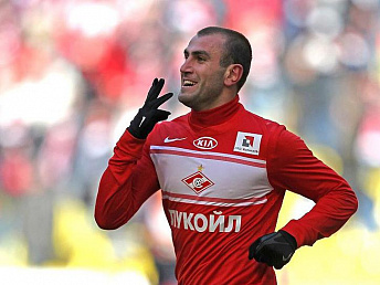 Yura Movsisyan on Russian championship's best players' list