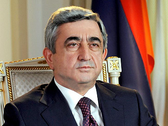 Armenian president to fly to Belgium for working visit