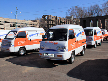 Armenia's Haypost fleet replenished with 49 new cars
